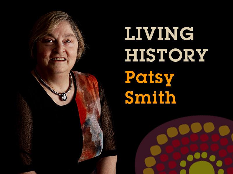 Living History link image Patsy Smith